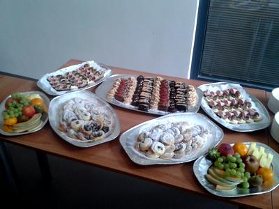 Občerstvení na PMcon 2014